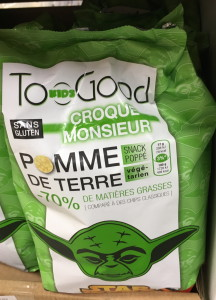Croque Monsieur flavored pop snacks—probably only big with the French kids ;)
